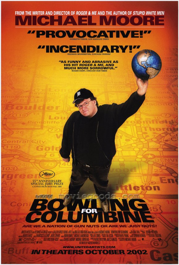 Bowling for columbine michael moore documentary