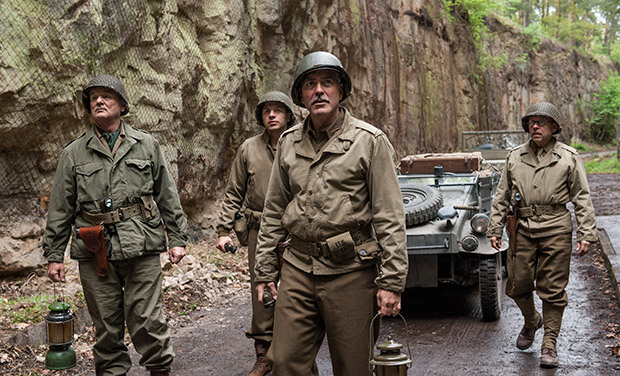 the monuments men � film review a brainsnorts inc