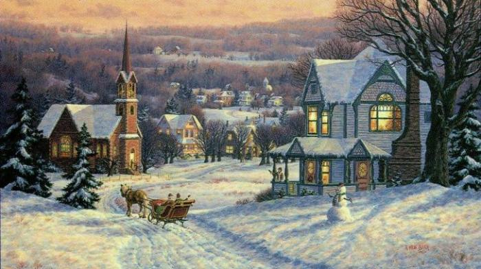 snow, sleigh ride, massachusetts, winter