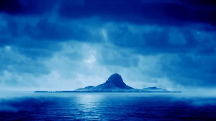 A mysterious boy on a mysterious island