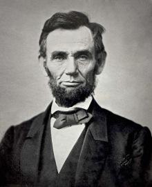 Lincoln, probably when still alive