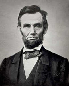 Lincoln, probably when still alive